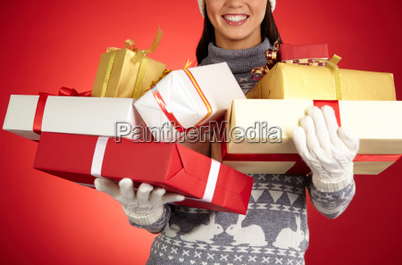 heap of gifts