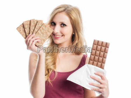 crispbread or chocolate