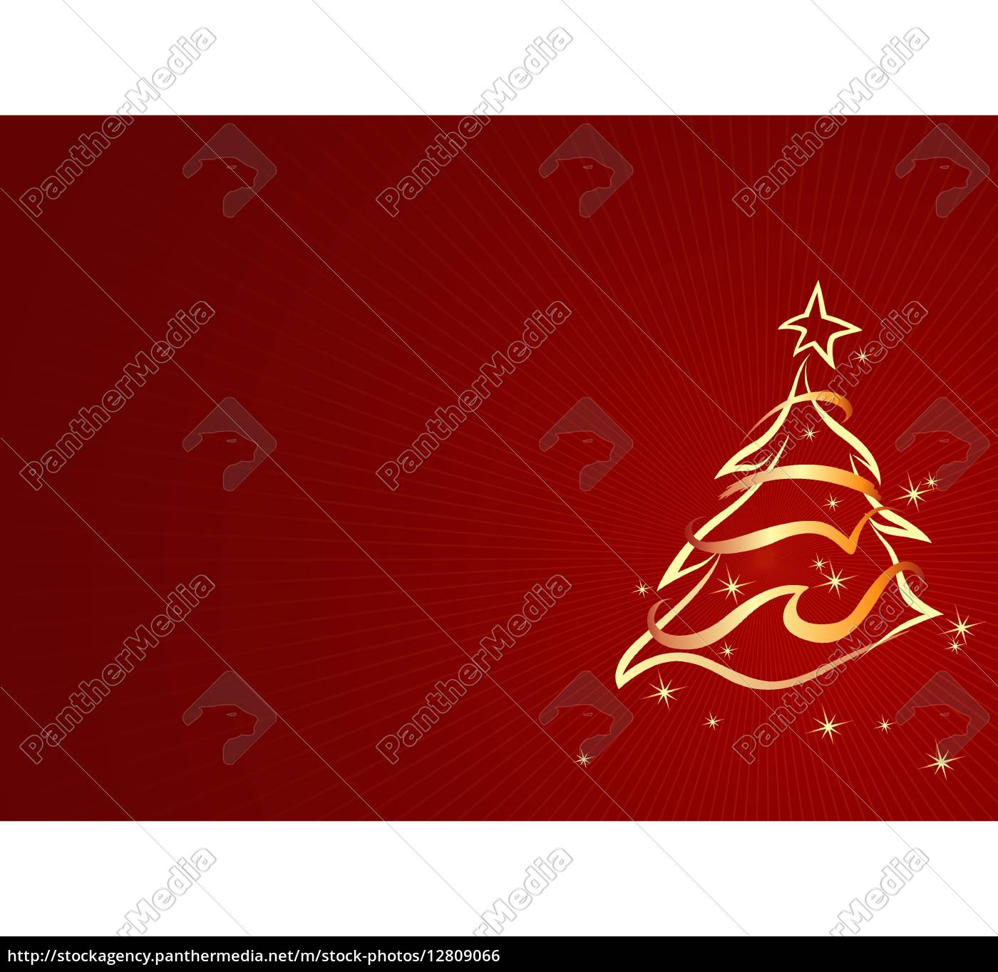 Royalty Free Vector 12809066 Gold Abstract Xmas Tree Christmas Background Illustration