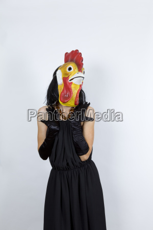 cock, in, evening, dress - 12842738