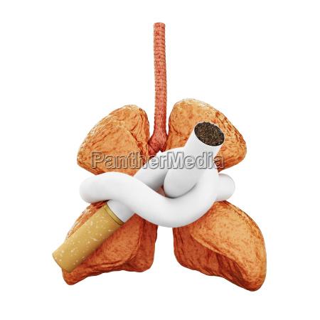 threatening lung