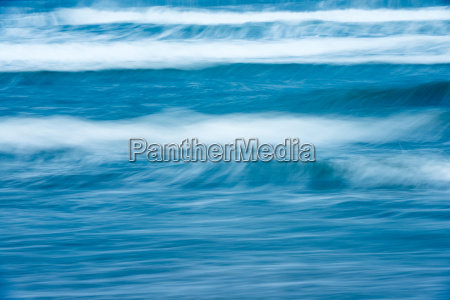 beautiful stormy ocean scenic waterscape