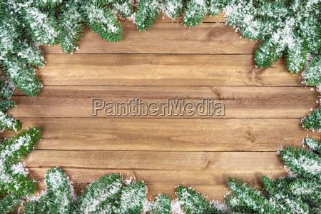 weihnachtlicher wooden background