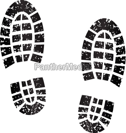 black footprints