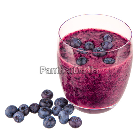 smoothie blueberries