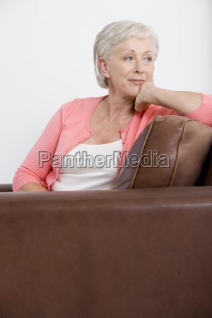 one person only woman middle aged