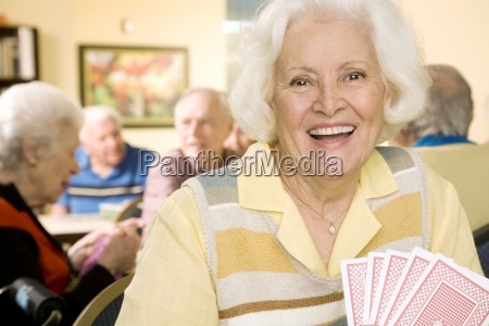 five people senior adult senior women