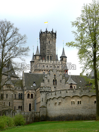 marienburg castle in pattensen near nordstemmen