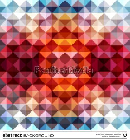 abstrakt farverig trekanter baggrund vektor