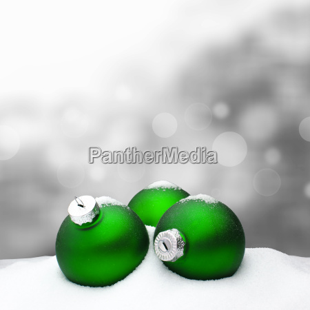 christmas background christmas ornament green