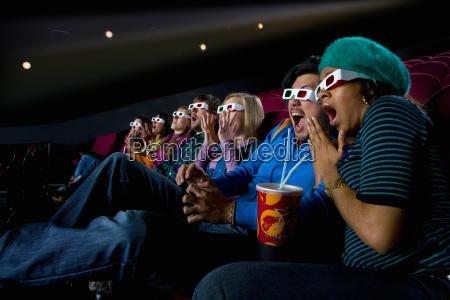 audiencia en el cine que llevaba