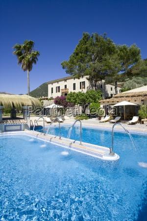 chateau hotel swimming pool