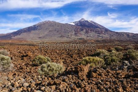 tenerife canary islands spain volcano