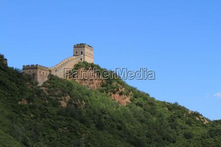the great wall of china at