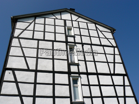 half timbered house in schwelm