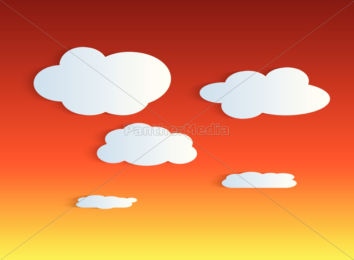 twilight, sky, background, illustration - 12943628