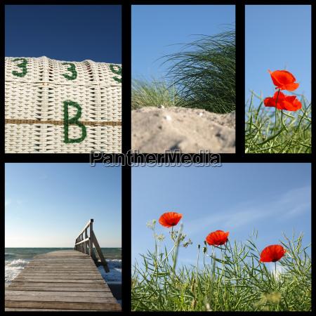near the sea
