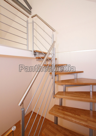 wooden stair stairs