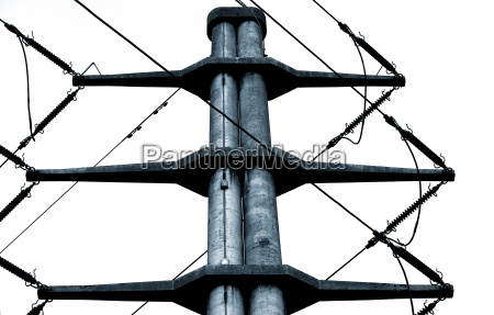 electricity pylon with tonung