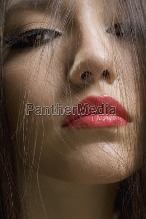 vertical color photography series beauty studio