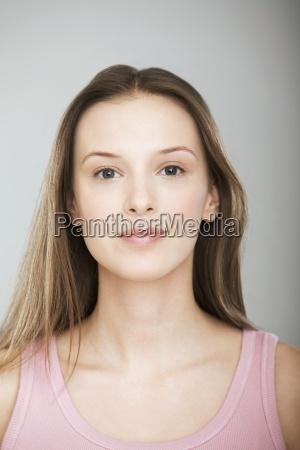 frau farbe entspannung weiblich portrait portraet