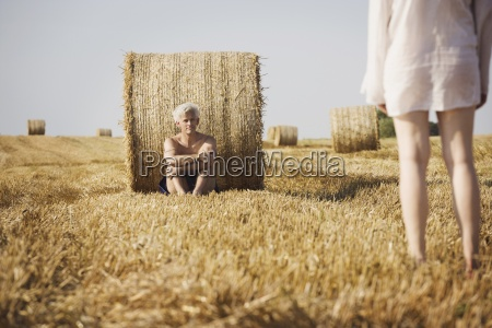 horizontal color photography two people mid