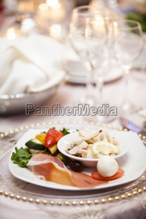 comida boda matrimonio canada placa evento