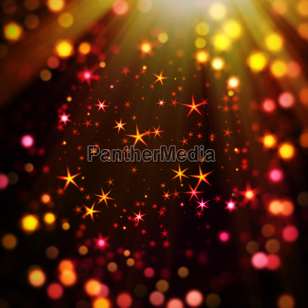 happy stars and bokeh