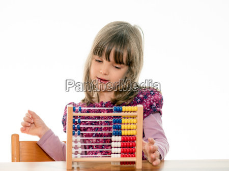 child expects abacus