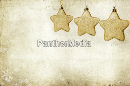 christmas background with closeup on decorations