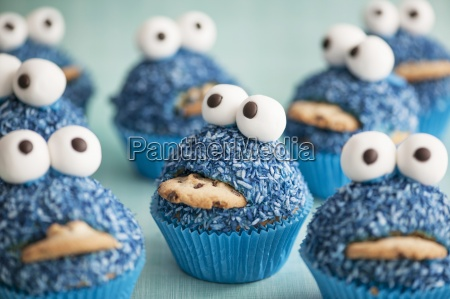 amusing baked goods baked products blue