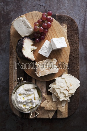above assorted cheese cheese platter cheese