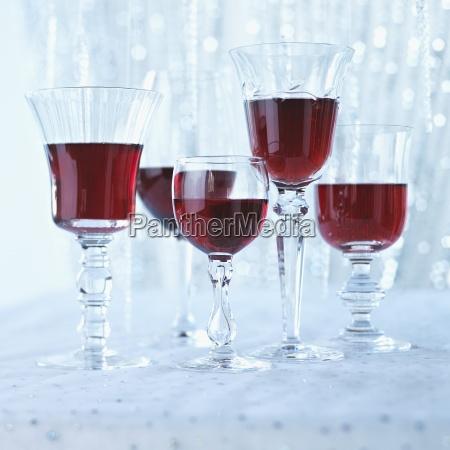 christmas crystal crystal glass festive food