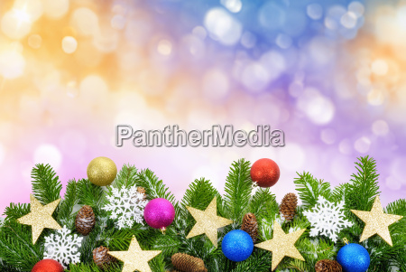 colorful background of christmas