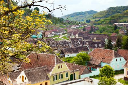 village in transylvania romania