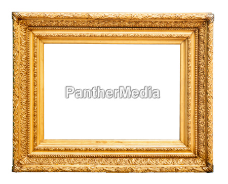 gorgeous golden picture frame
