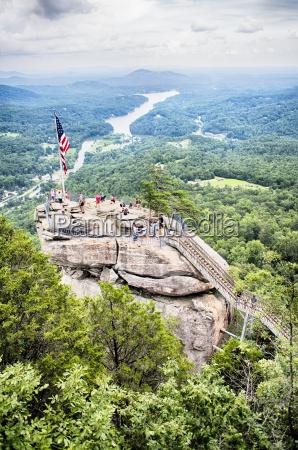 chimney rock at chimney rock state
