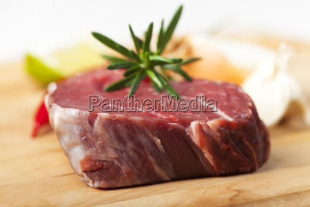 raw piece of beef