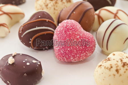 unique cute heart shaped chocolates