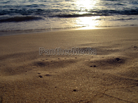sand and seawater
