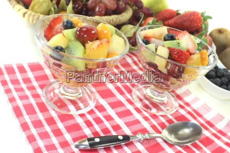fruit, salad, on, a, napkin - 13096590