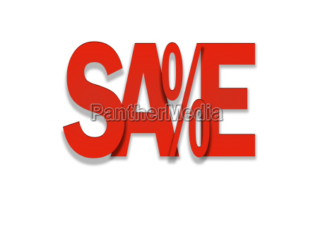 sale red price discount in percent