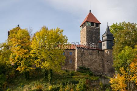 castle elgersburg in thuringia