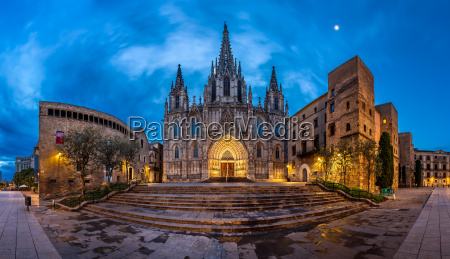 panorama of cathedral of the holy