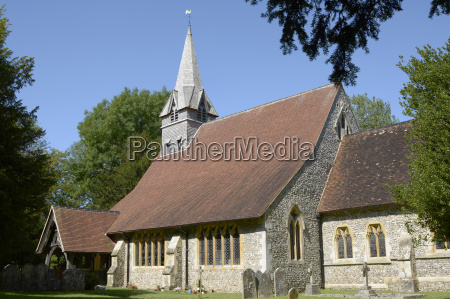 st peters church at wherwell hampshire