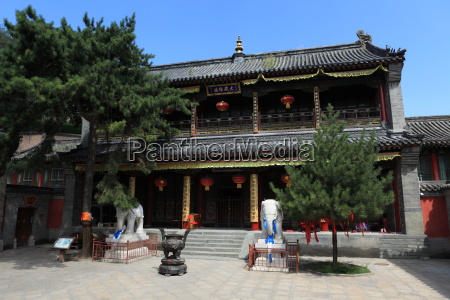 temples of wutai shan in china