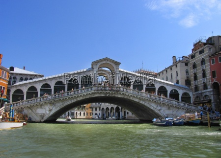 city town bridge venice water mediterranean
