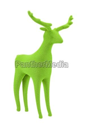 gruenes velvet reindeer