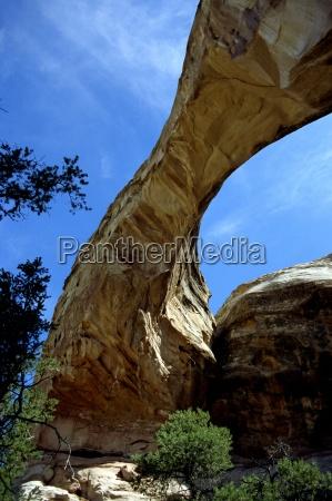 blue monument national park bridge hike