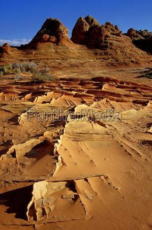monument hill desert wasteland national park